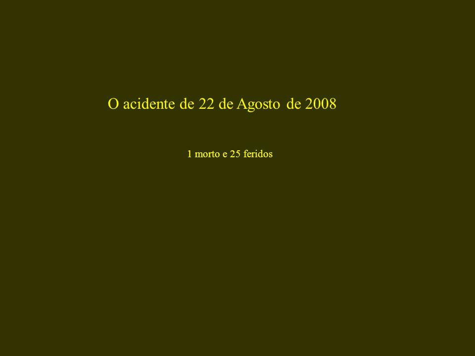 O acidente de 22 de Agosto de 2008