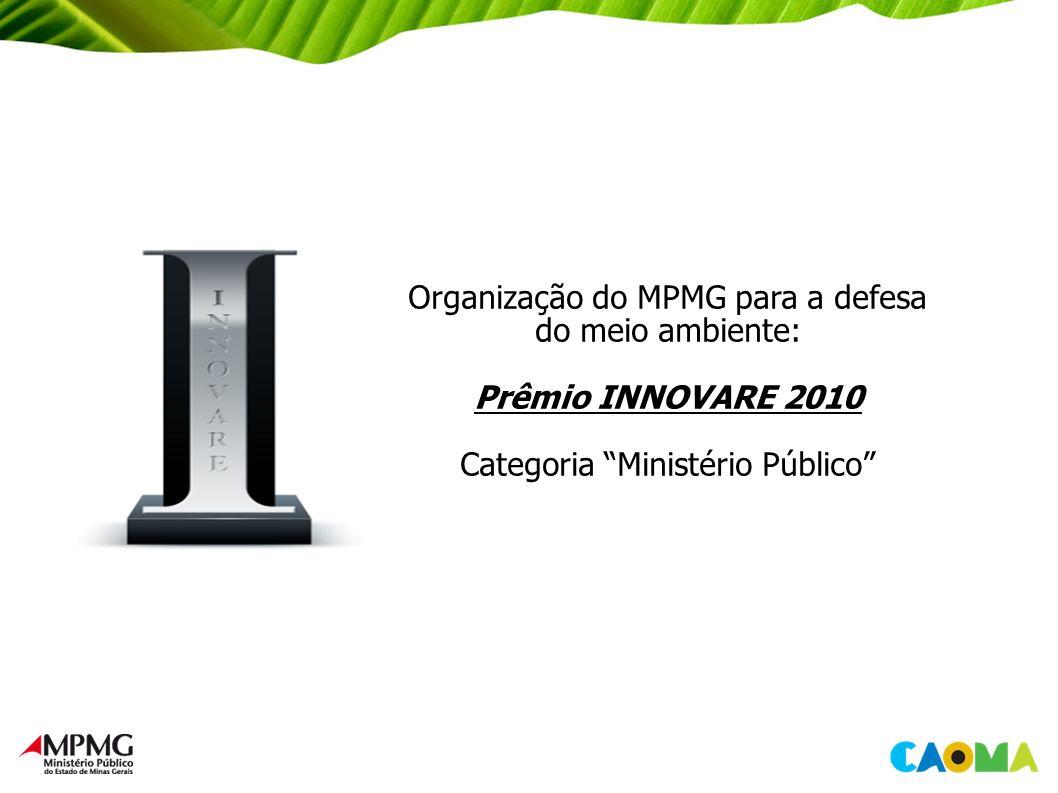 Organização do MPMG para a defesa do meio ambiente: