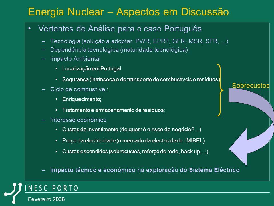 Energia Nuclear – Aspectos em Discussão