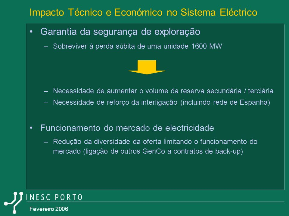 Impacto Técnico e Económico no Sistema Eléctrico