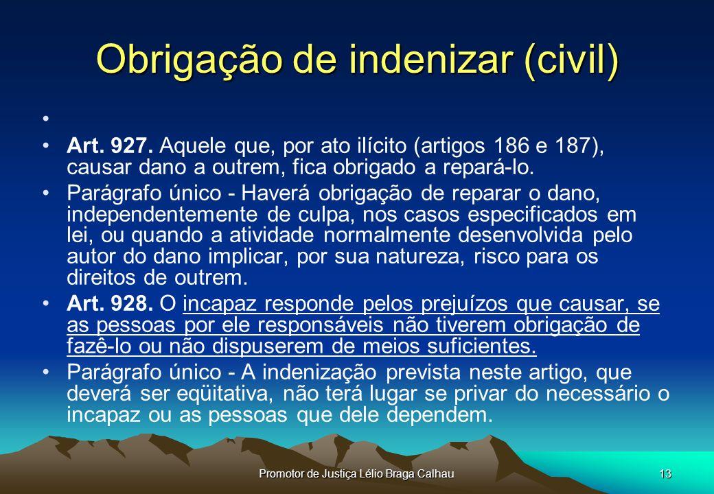 Obrigação de indenizar (civil)
