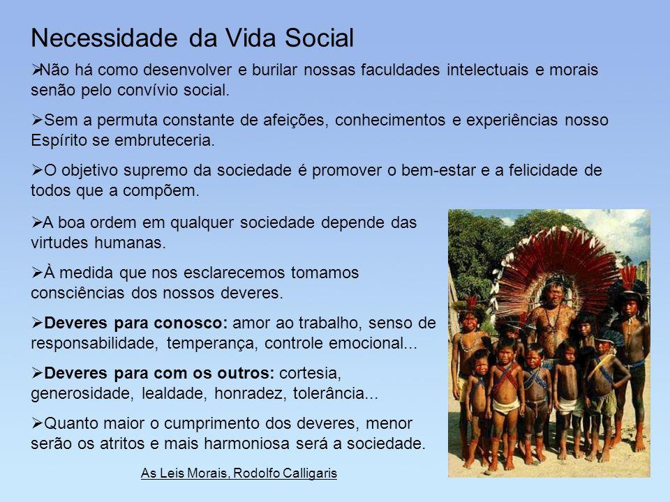 Necessidade da Vida Social