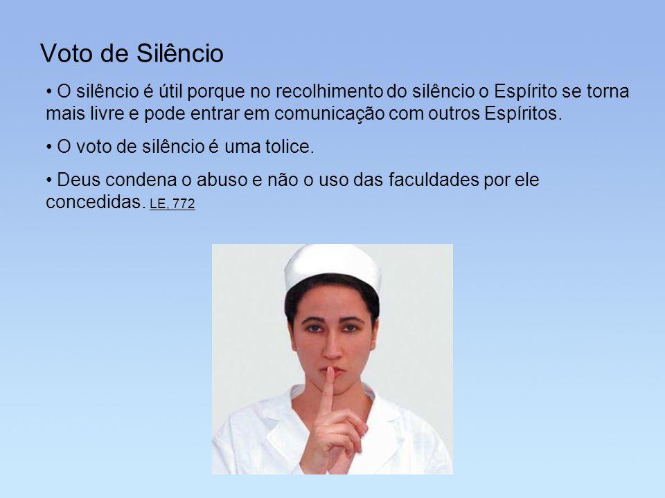 Voto de Silêncio