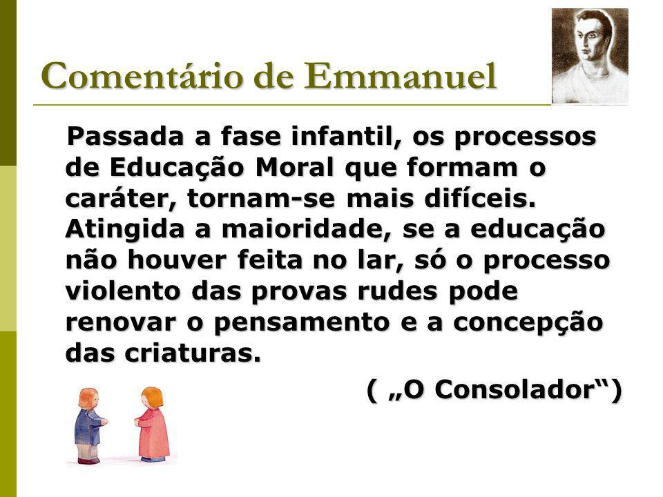 Comentário de Emmanuel
