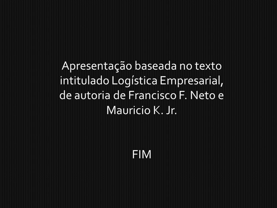 Apresentação baseada no texto intitulado Logística Empresarial, de autoria de Francisco F. Neto e Mauricio K. Jr.