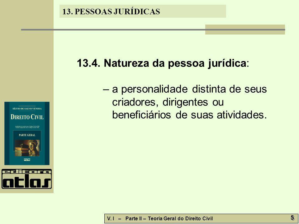 13.4. Natureza da pessoa jurídica: