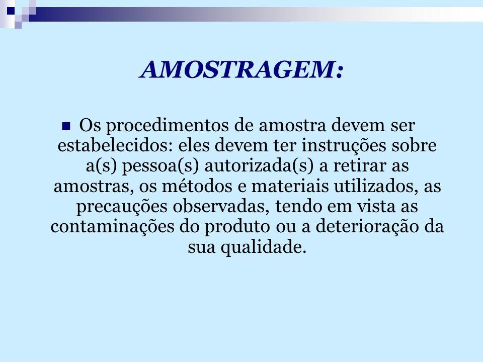AMOSTRAGEM: