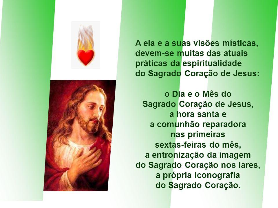o Dia e o Mês do Sagrado Coração de Jesus,