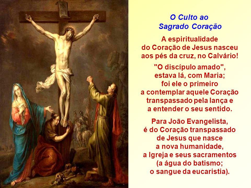 O discípulo amado , estava lá, com Maria;