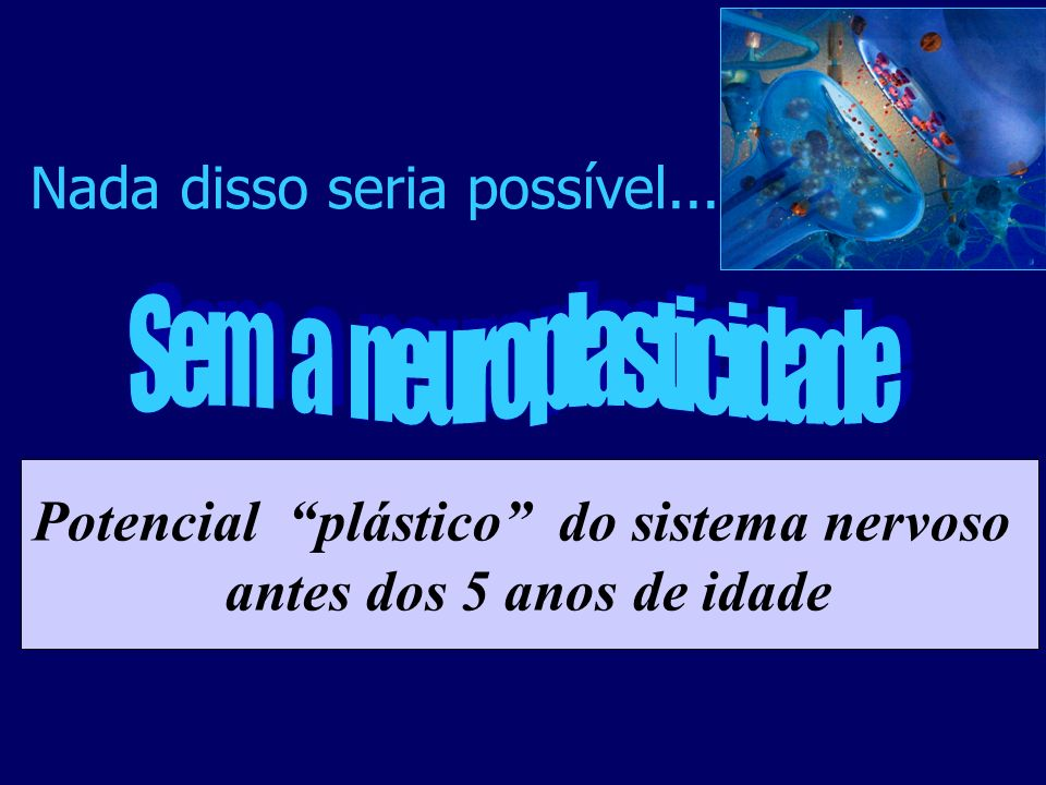 Potencial plástico do sistema nervoso
