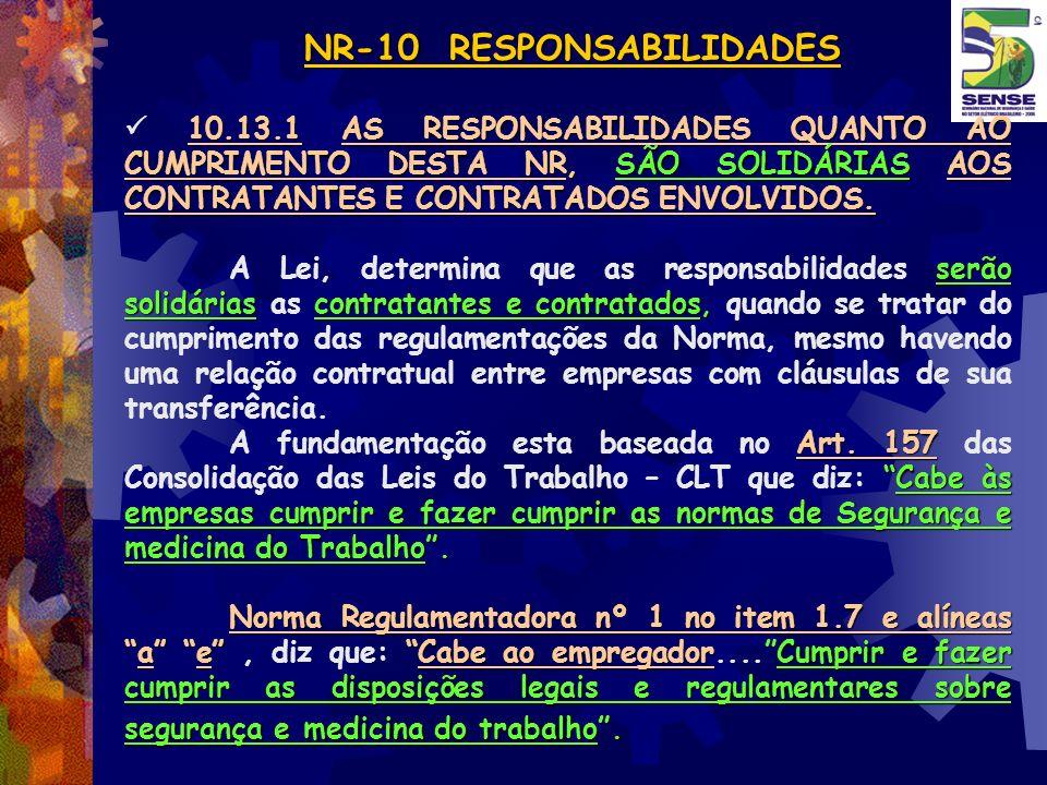 NR-10 RESPONSABILIDADES