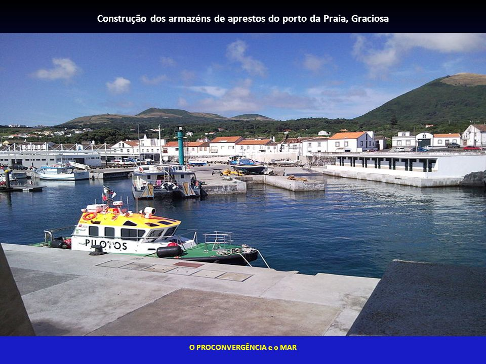 Construção dos armazéns de aprestos do porto da Praia, Graciosa