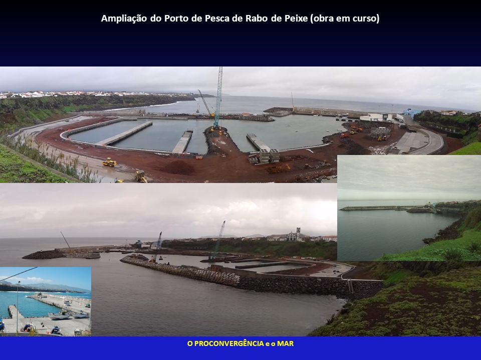 Ampliação do Porto de Pesca de Rabo de Peixe (obra em curso)