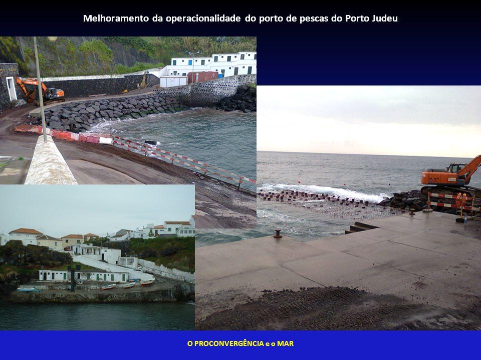 Melhoramento da operacionalidade do porto de pescas do Porto Judeu