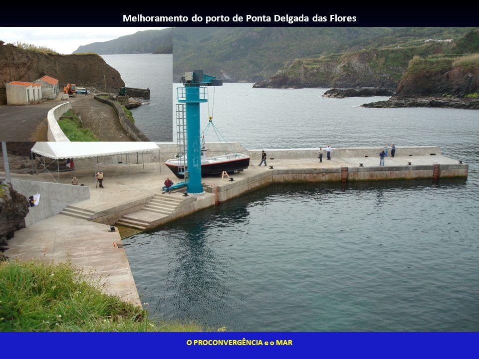 Melhoramento do porto de Ponta Delgada das Flores