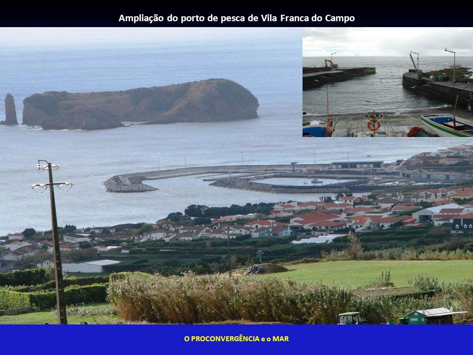 Ampliação do porto de pesca de Vila Franca do Campo