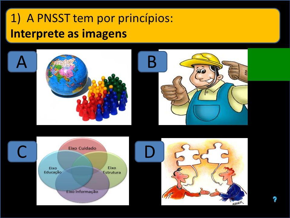 A PNSST tem por princípios:
