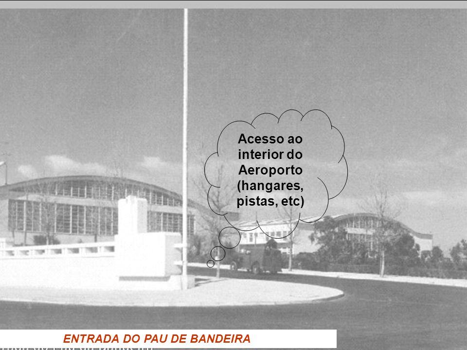 Acesso ao interior do Aeroporto (hangares, pistas, etc)