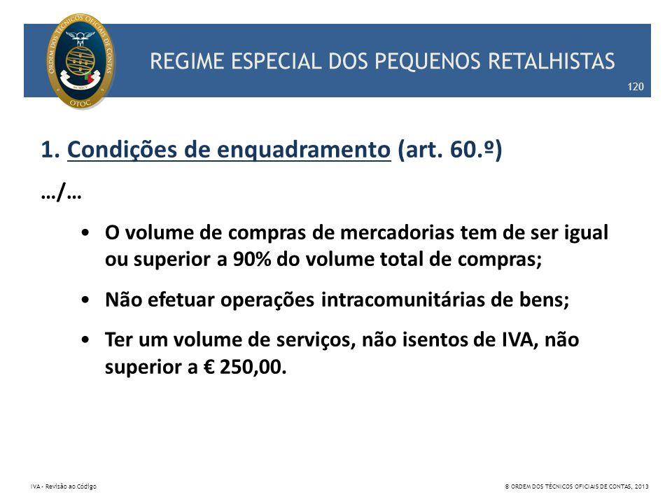 REGIME ESPECIAL DOS PEQUENOS RETALHISTAS