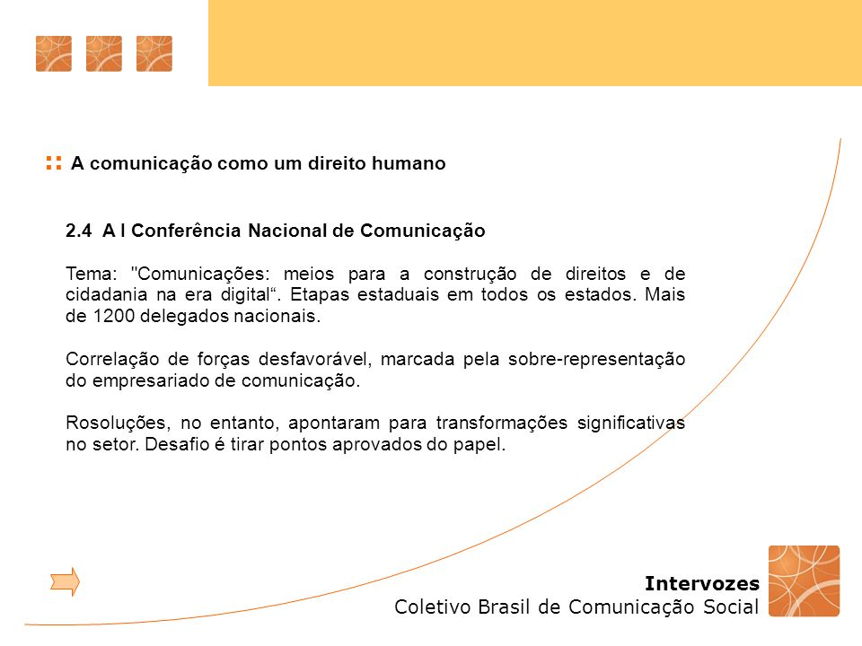 :: A comunicação como um direito humano