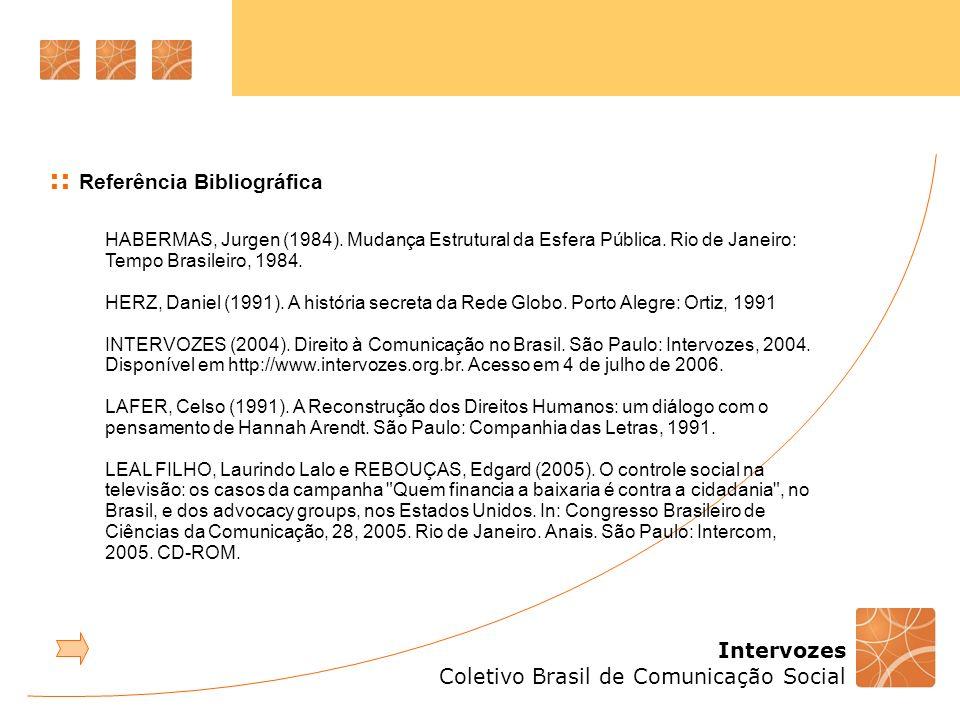 :: Referência Bibliográfica