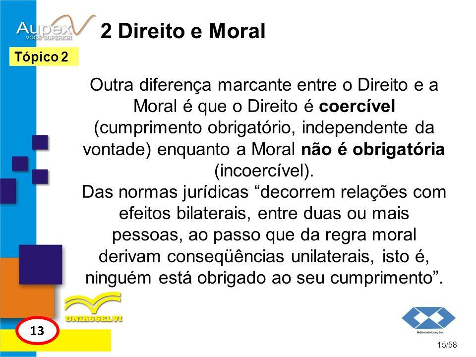 2 Direito e MoralTópico 2.