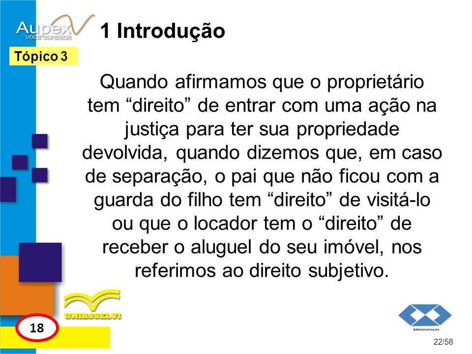 1 IntroduçãoTópico 3.