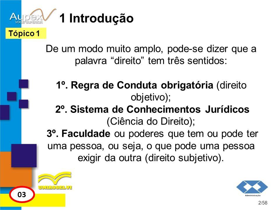 1 IntroduçãoTópico 1.