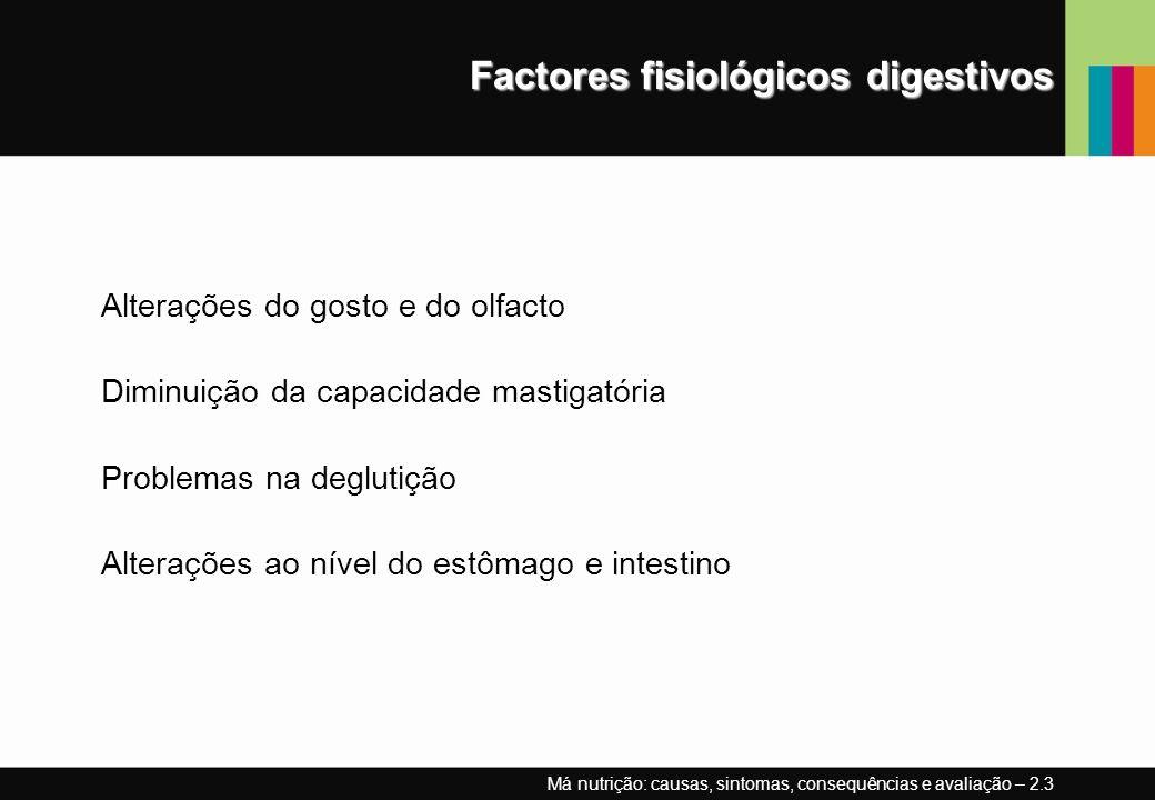 Factores fisiológicos digestivos