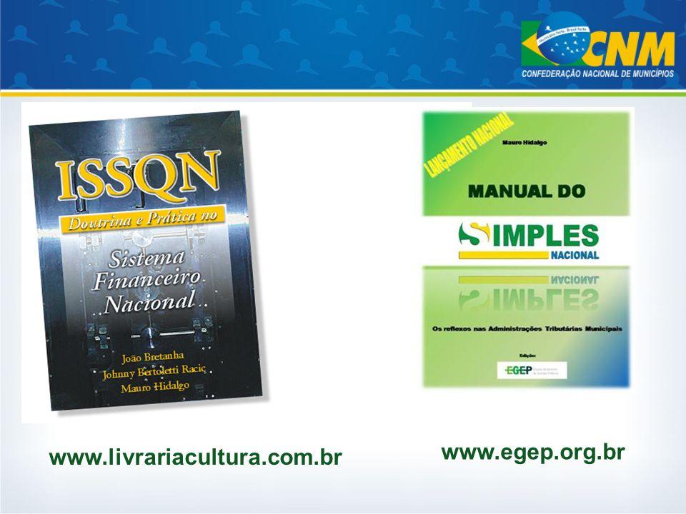 www.egep.org.br www.livrariacultura.com.br