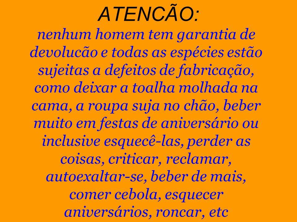 ATENCÃO: