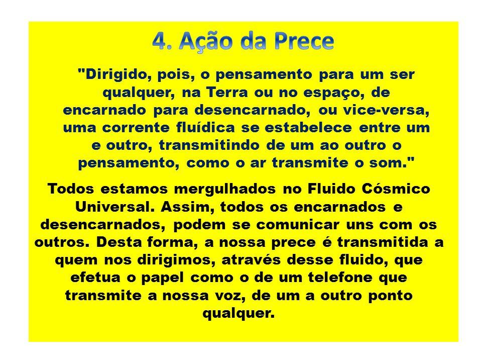 4. Ação da Prece