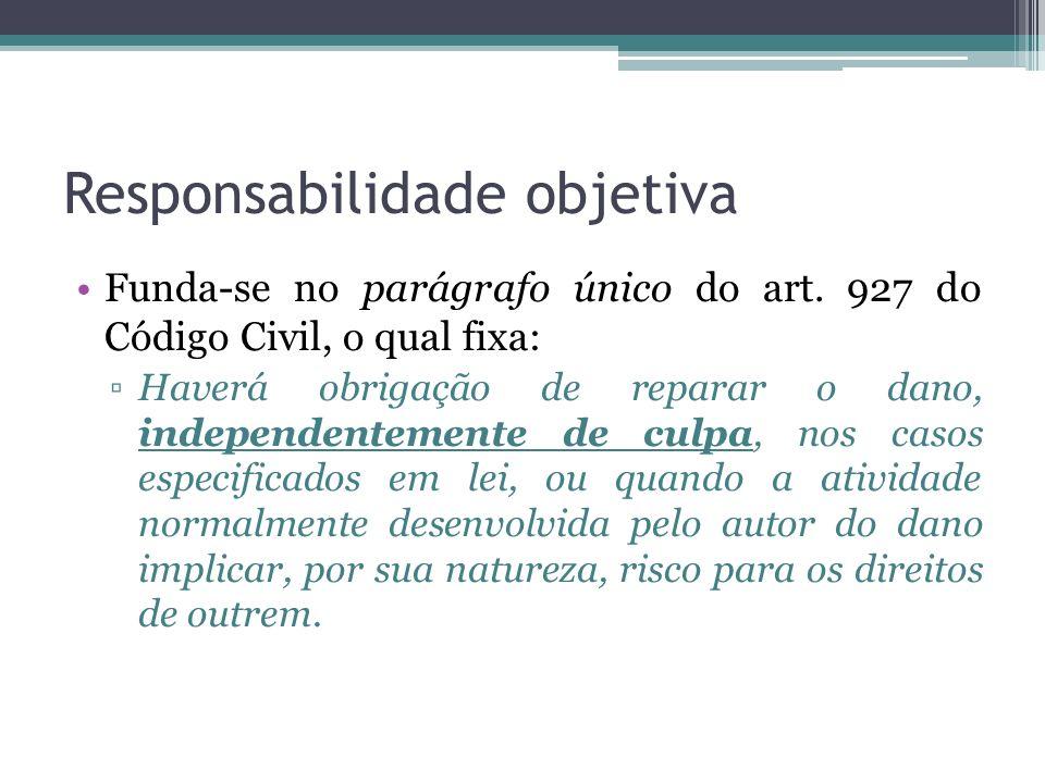 Responsabilidade objetiva