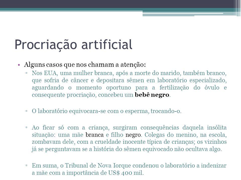 Procriação artificial