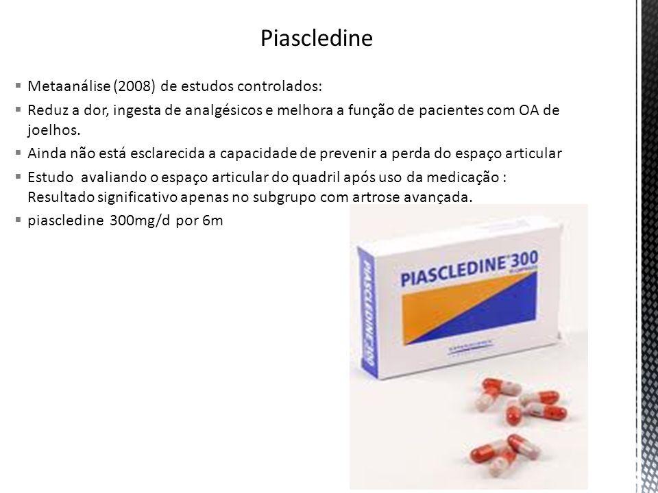 Piascledine Metaanálise (2008) de estudos controlados: