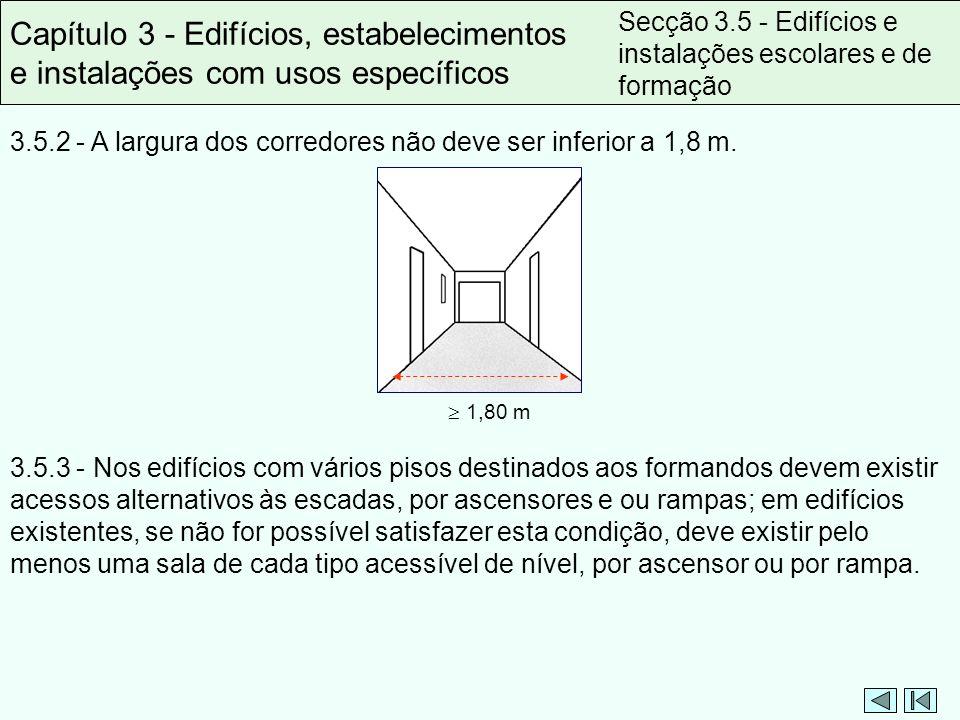 Capítulo 3 - Edifícios, estabelecimentos