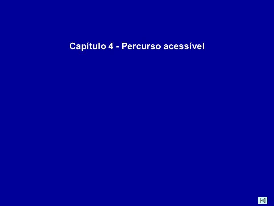 Capítulo 4 - Percurso acessível