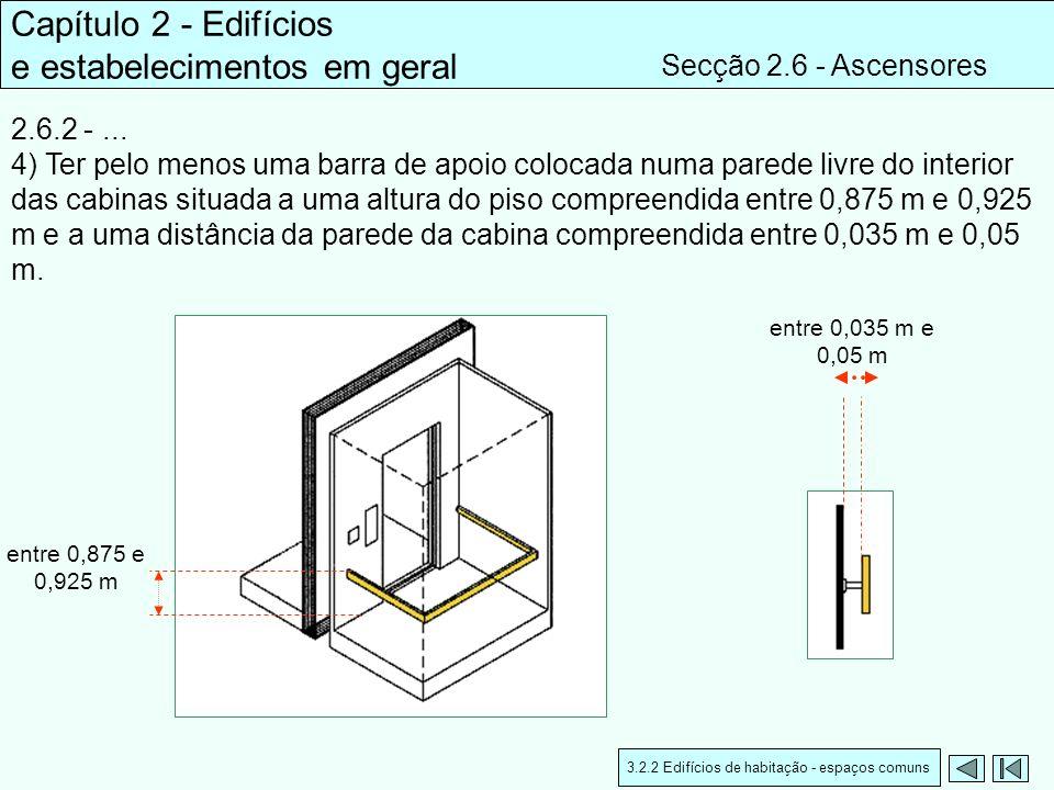 3.2.2 Edifícios de habitação - espaços comuns