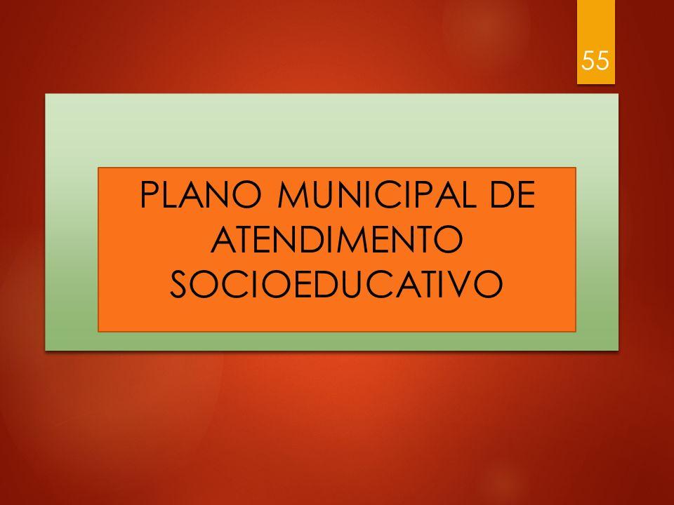 Plano Municipal de Atendimento Socioeducativo