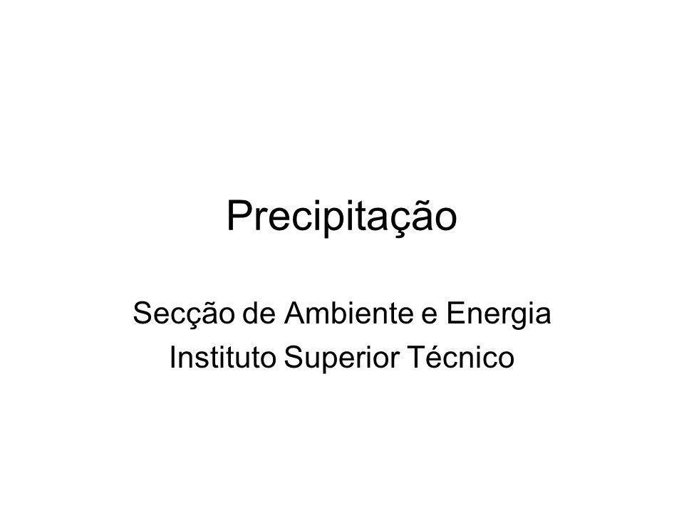 Secção de Ambiente e Energia Instituto Superior Técnico