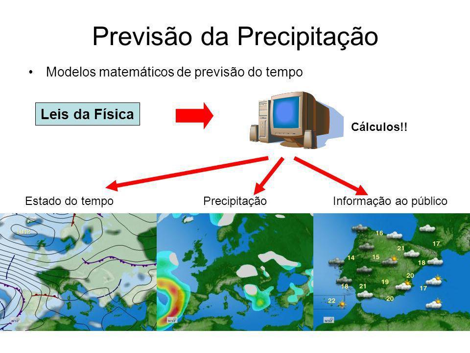 Previsão da Precipitação