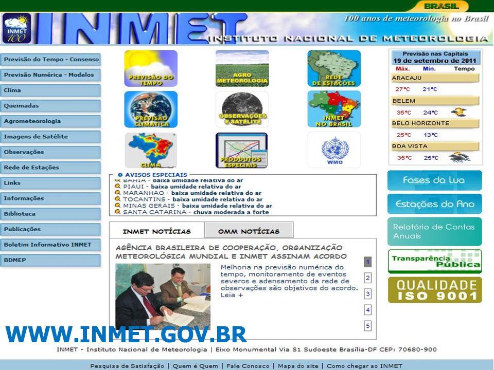 WWW.INMET.GOV.BR