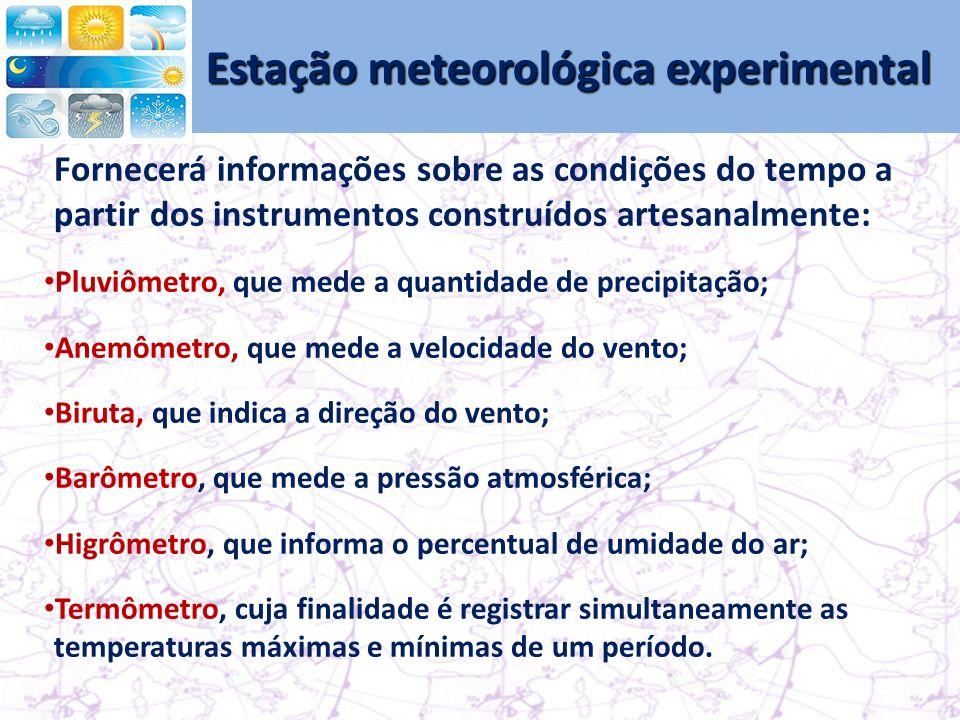 Estação meteorológica experimental