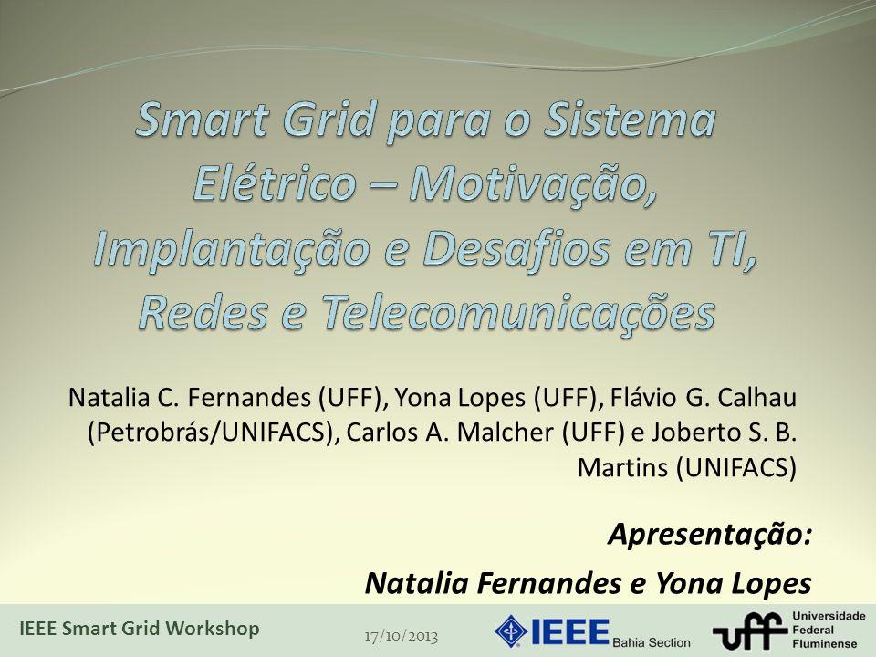Smart Grid para o Sistema Elétrico – Motivação, Implantação e Desafios em TI, Redes e Telecomunicações