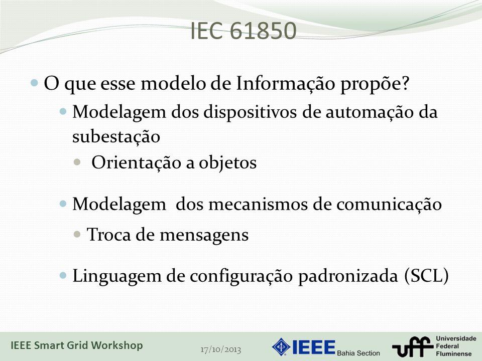 IEC 61850 O que esse modelo de Informação propõe