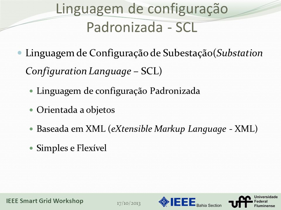 Linguagem de configuração Padronizada - SCL
