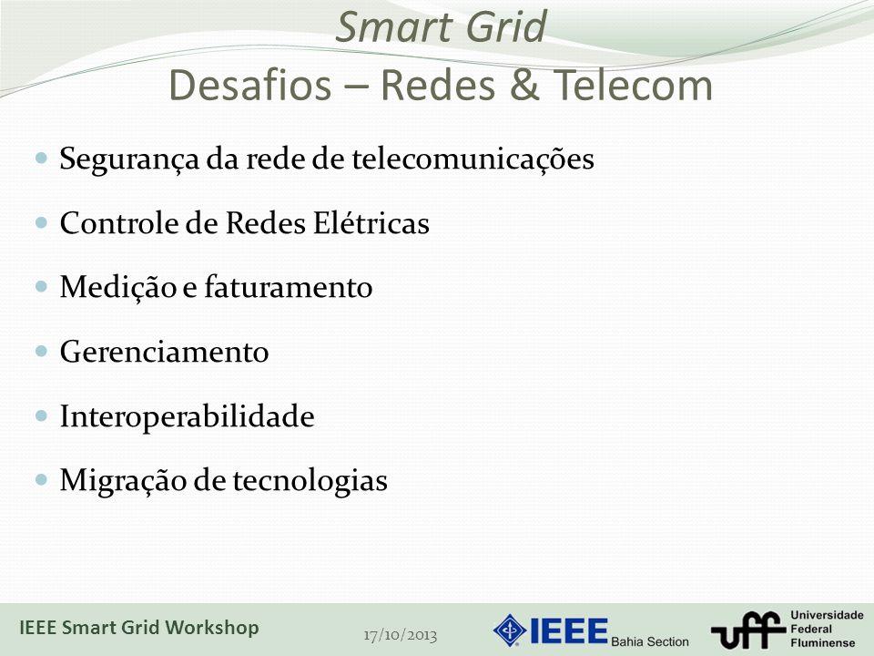 Smart Grid Desafios – Redes & Telecom