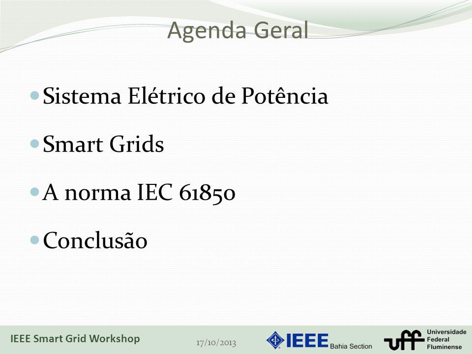 Agenda Geral Sistema Elétrico de Potência Smart Grids