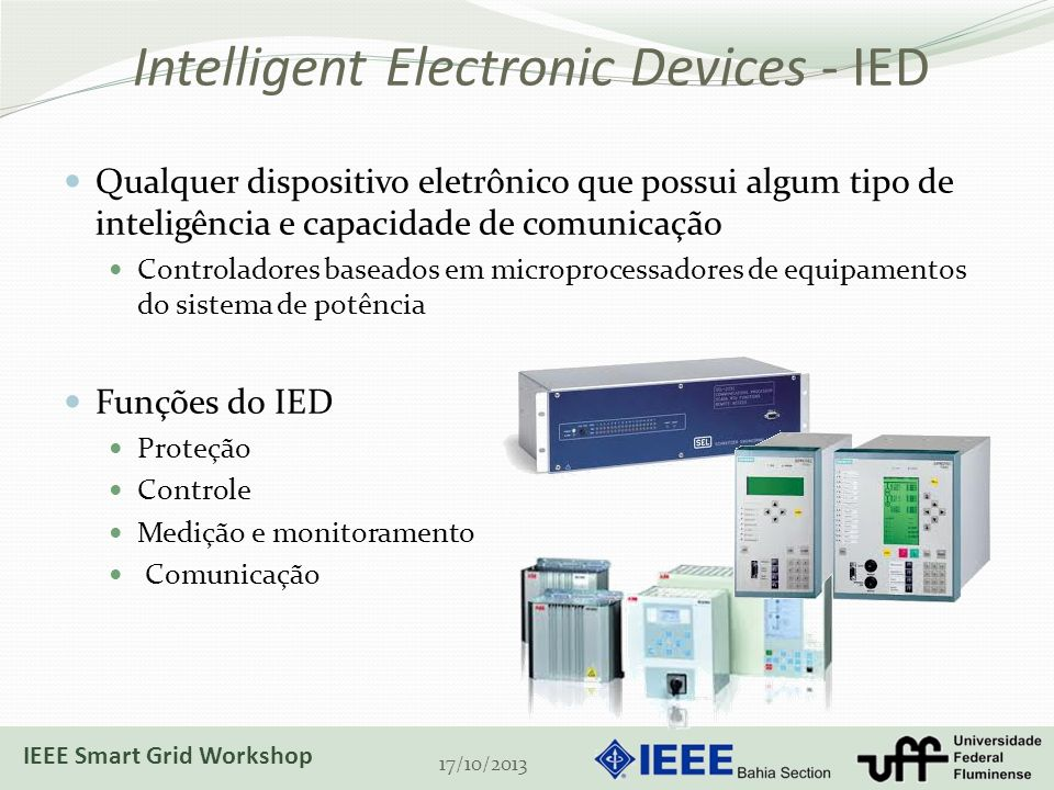 Intelligent Electronic Devices - IED