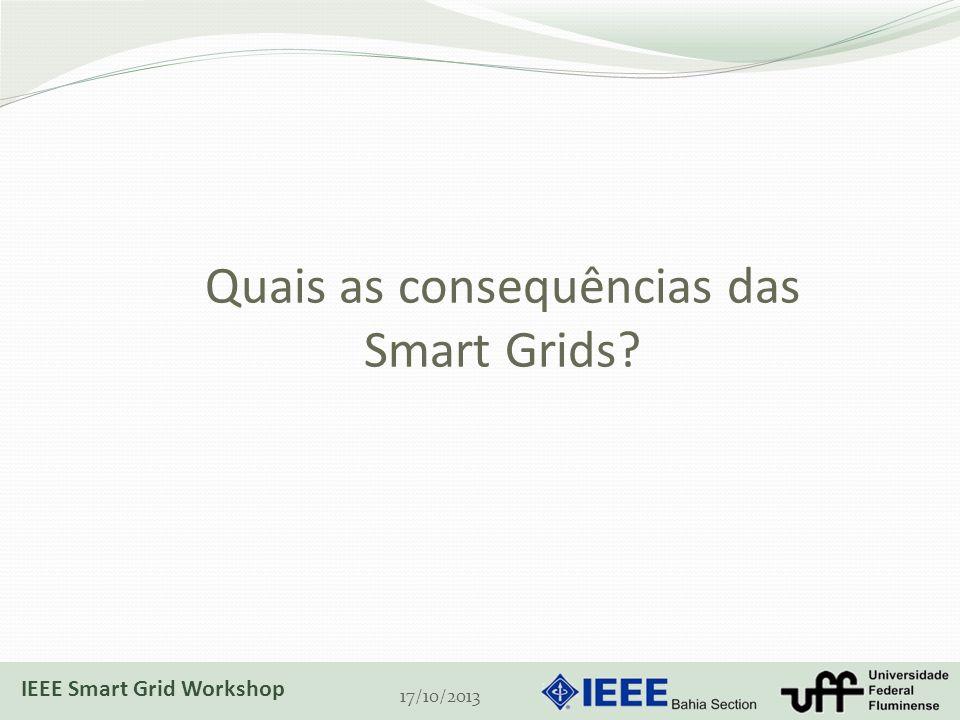Quais as consequências das Smart Grids